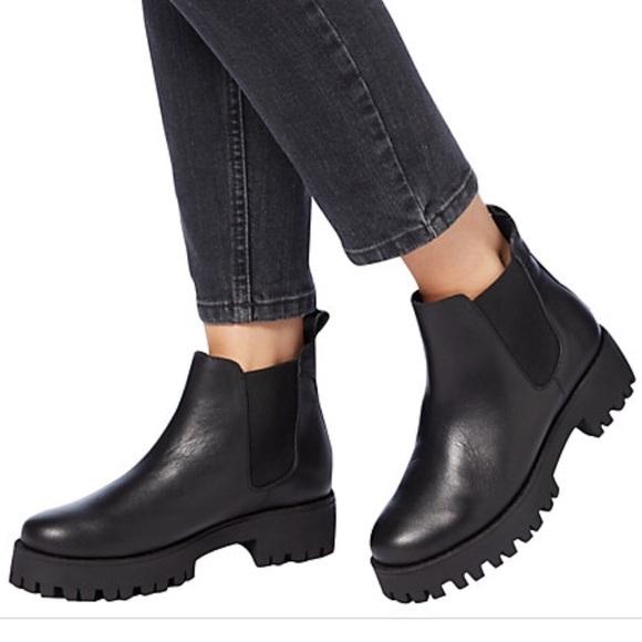 9583b9bb57e NEW Steve Madden Bleeker Leather Ankle Boots. M 5abe8b49a6e3ea07dd32dfb3